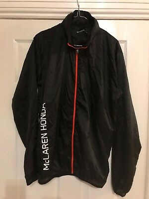 McLAREN OFFICIAL ESSENTIAL ULTRA LIGHTWEIGHT JACKET LARGE