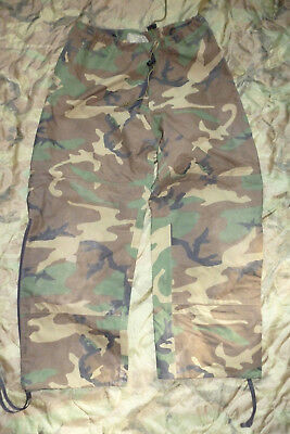 US Army ECWCS Gore-Tex Hose Trousers Woodland Medium Regular Cold Weather Armee
