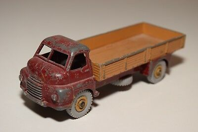# 1:43 Dinky Toys 522 Big Bedford Truck Lorry Maroon Brown Excellent Condition