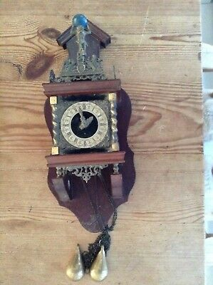 Antique ornate Mantelpiece Clock - For parts not working