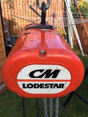 Loadstar  Electric Chain Hoist CM 500kg /10mtr Chain 110v
