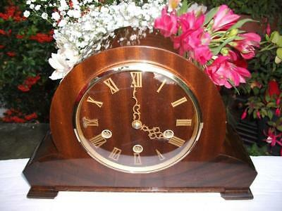 Superb Smiths 8 Day Westminster Chiming Mantel Clock. 1955. Fully Overhauled.