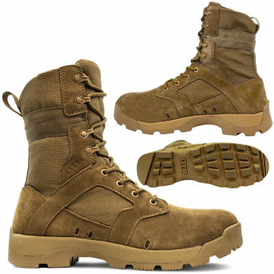 Mens Non Safety Combat Army Police Military Security Desert Hiking Work Boots Uk