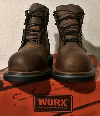 4a014411e47 RED WING SHOES Dynaforce ® 6-inch Boot Men's Size 8 2212 Steel Toe