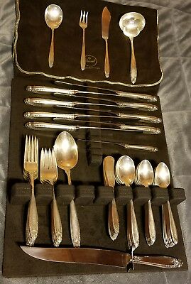 International Sterling Silver 63 Piece Prelude Flatware Set LOT