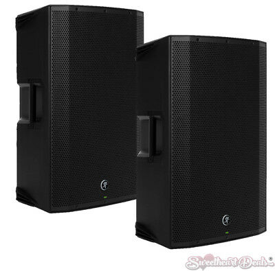 """Pair of Mackie Thump15BST Boosted 1300W 15"""" Advanced Powered Loud Speaker"""