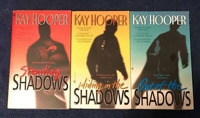 LOT of 3 STEALING SHADOWS SERIES by KAY HOOPER, Hiding in the Shadows