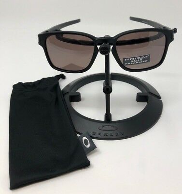 Oakley Latch Squared >> Oakley Latch Square Sunglasses Matte Black W Prizm Daily Polarized Oo9353 02