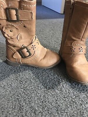 Girls Boots Size 6 Pumpkin Patch
