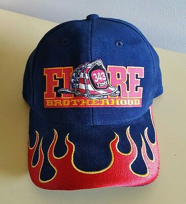 N. Y. FIRE DEPARTMENT, FDNY, 9-11-01, 343  Embroidered Baseball cap-hat, NWOT