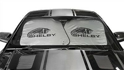 Shelby American Super Snake Cobra Sun Shade Ford Mustang Gt500 King Of The Road