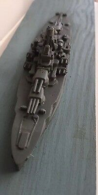 US Navy Comet Miniature Recognition ship models 1/1200 Scale Nevada US BB