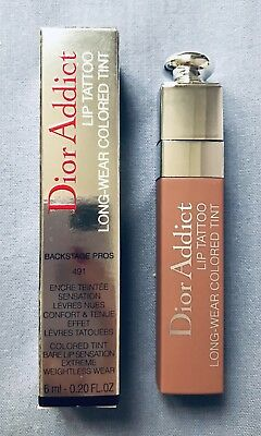 D*** A*** Authentique Lip Tattoo Natural Rosewood Neuf Avec Emballage