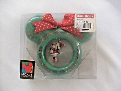 vintage disney minnie mouse christmas ornament - Minnie Mouse Christmas Ornament