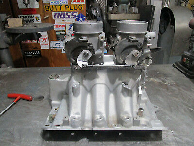 BUICk V6 ONLY TWIN THROTTLE BODY 1000CFM TUNNEL RAM MANIFOLD VN,VP,VR Commodore