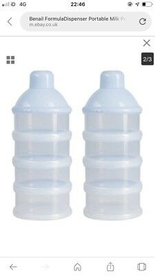 Benail Formula Dispenser Pack Of 2