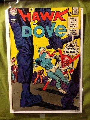 Hawk and Dove 4, VG/FN (5.0) 1969 DC
