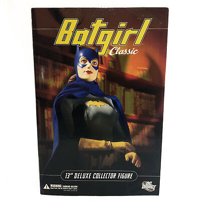 """DC Direct Batgirl Classic 13"""" Deluxe Figure 1:6 Scale NEW NEVER OPENED"""