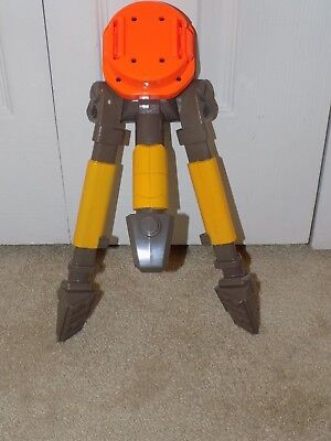 Nerf N Strike Vulcan EBF-25 Machine Gun Tripod Orange, Yellow and Gray Version