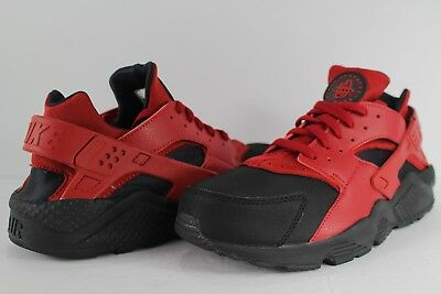 Nike Air Huarache Low Premium Love Hate Pack Black Varsity Red Size 11.5 231f2f0fa