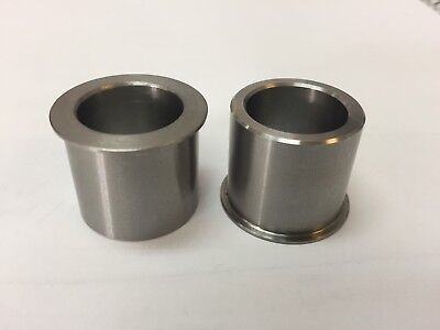 """Wheel Bearing Reducers 25mm to 3/4"""" Axle Reducer Spacer Harley Chopper Bobber"""