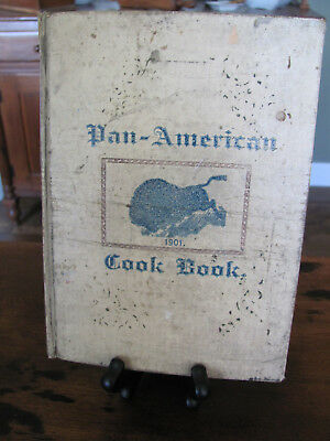 1901 Pan American Exposition Buffalo Cookbook Ladies Aid Society of Riverside