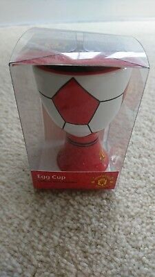 Manchester United FC Official Egg Cups NEW Job Lot x12 pieces red devils