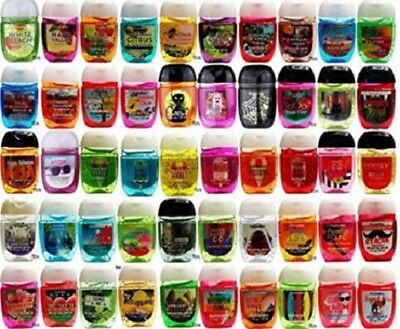 Bath & Body Works PocketBac Assorted Sanitizing Hand Gels Lot of 40