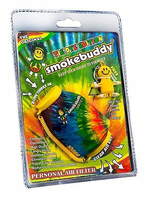 TIE DYE - The Original Smoke Buddy Personal Air Odor Purifier Cleaner Filter