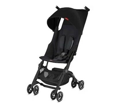 Gb Pocket Plus Stroller Lightweight Satin Black New In Box Free Shipping