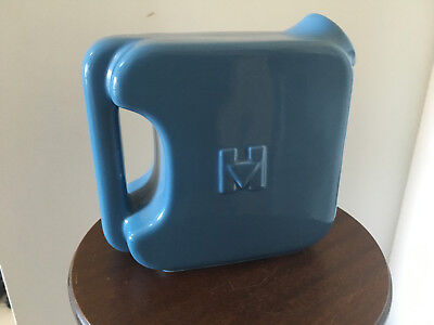 Art Deco Hall China Hotpoint Water Pitcher Powder Blue. Juice, water, Ice Tea
