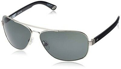 ee9788322d SPY optic Sunglasses Showtime Silver Black  Happy Gray Green 672036247863