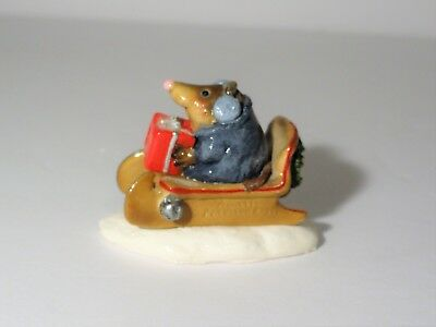 Wee Forest Folk Mole's New Sled  -  Annette Peterson 1995