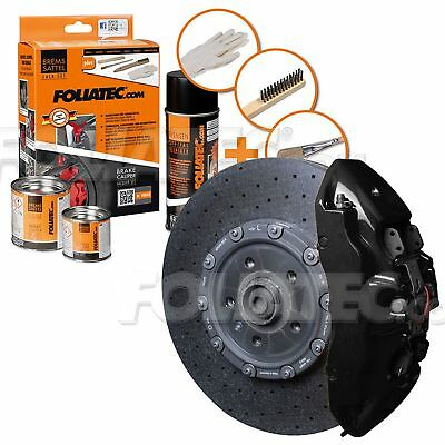 Painting Brake Caliper High Temperature 300 °C Foliatec Ft2164 Shiny Black