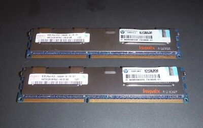 4X 4GB DDR3 1333MHZ PC3-10600Server Memory RAM ECC REG 240PIN 1.5V CL9 for Hynix