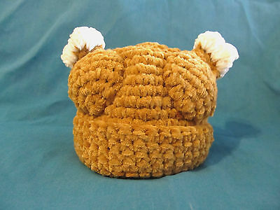Lacy Bella Baby Turkey Thanksgiving Toddler Hat Winter Crochet Beanie Chenille