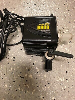 Used Alien Bees B800 320 WS Black Pro Photoflash  and Power Cord