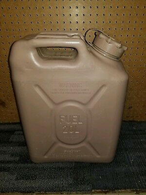 Scepter Us Military Gas Fuel Jerry Can 5 Gal 20L - Tan