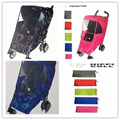 Baby Toddler Infant Universal Stroller Cover Weather Shield Rain Winter Proof