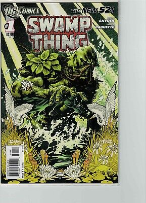 Swamp Thing 1 New 52 Never Read