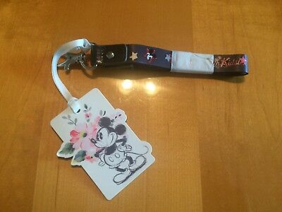 Disney Cath Kidston Lanyard Mickey Mouse From London Brand NEW with tags!