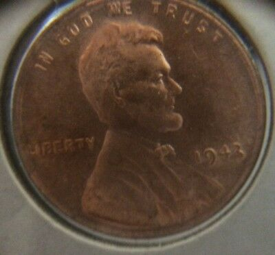 1943 copper penny 1944 penny pair