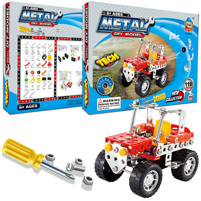 119 Pieces In1 Build and Play Toys Set Kids STEM Educational DIY Building Kits