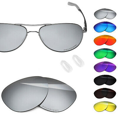 5dd3a89d509 BlazerBuck Polarized Etching Replacement Lenses for-Oakley Elmont M -  Options