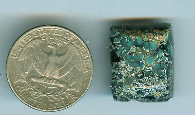 20 Carat Natural American Turquoise free form Cab New Lander Mine 21mm X 18mm