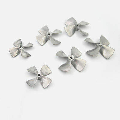 Zinc Alloy 4-Blades Propeller Prop For 4mm Shaft RC Boat Scale Marine