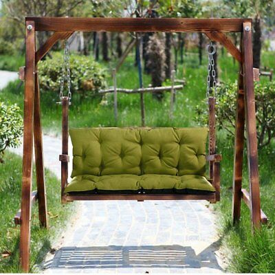 Marvelous 2X Replacement Cushions 1 4Seater For Garden Swing Bench Camellatalisay Diy Chair Ideas Camellatalisaycom