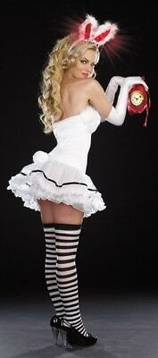 Dreamgirl White Rabbit Light -Up Costume Adult Large