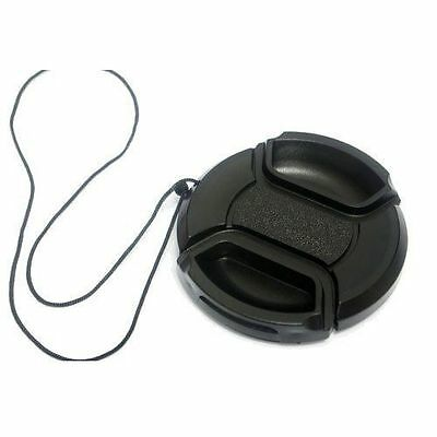 62mm Camera Snap-on Front Lens Cap Cover For Canon Nikon Sony Pentax Olympus
