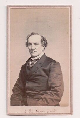 Vintage CDV Edward Loomis Davenport American actor.Fredrick's Photo